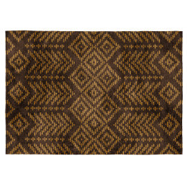Tapis marron - couleur naturelle. Le tapis brun est acceuillant ...