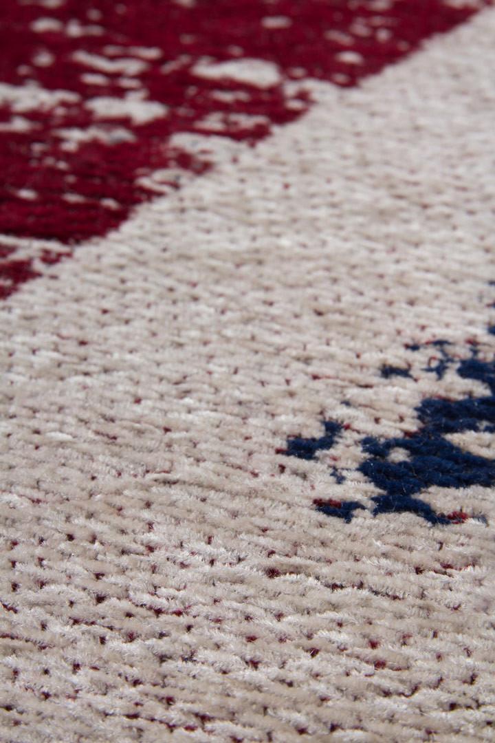 Tapis Anglais Plat Vintage Fait Main Cocoon