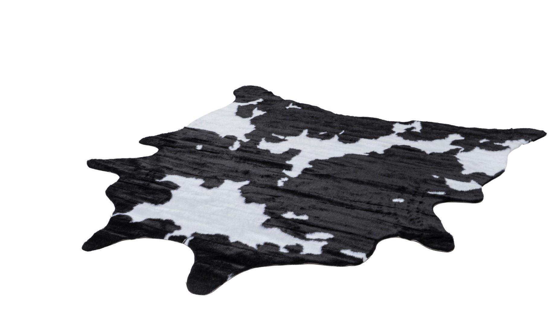 Tapis Peau De Vache Synthetique Antiderapant Rodeo