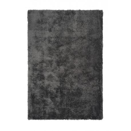 Tapis en polyester shaggy uni rectangle Cloud