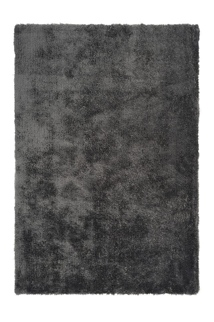 Tapis en polyester shaggy uni rectangle Cloud