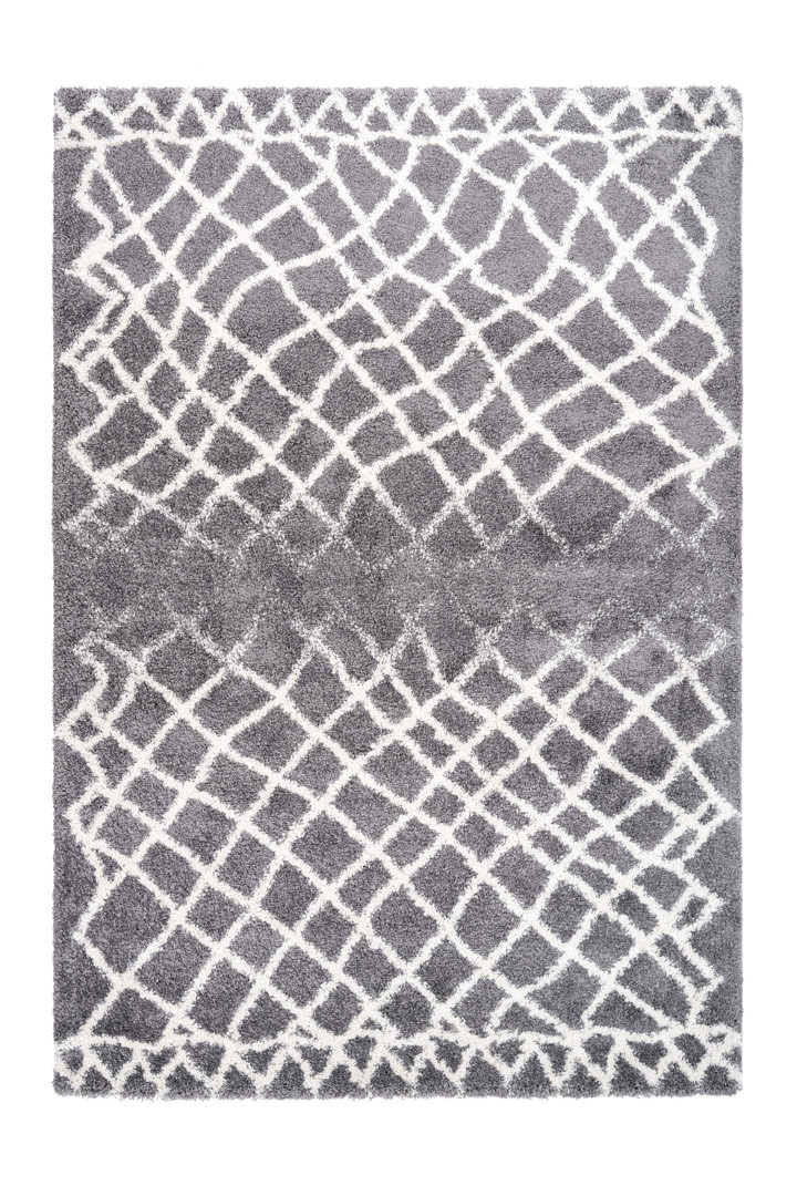 Tapis ethnique rectangle shaggy Graph