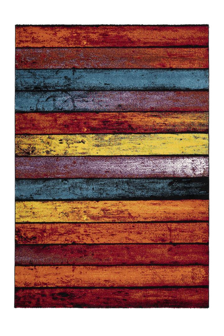 Tapis multicolore tendance de salon Charm