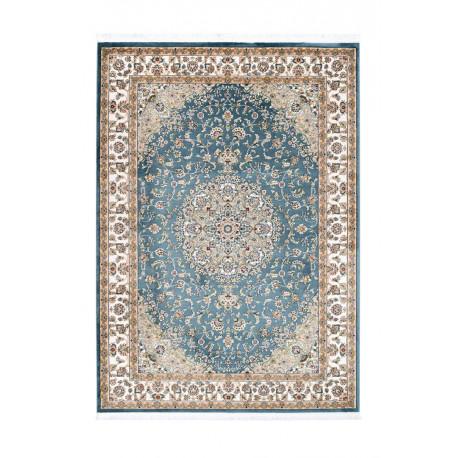 Tapis oriental en polyester avec franges Lakos