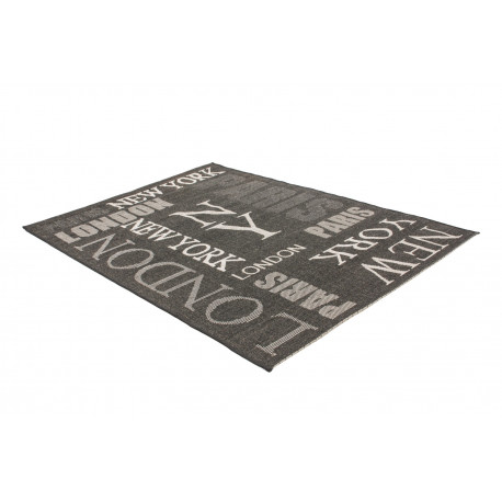 Tapis gris Fipoca Travel