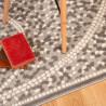 Tapis rectangle contemporain à courtes mèches Peri