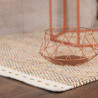 Tapis moderne en laine rectangle tissé main Dalma