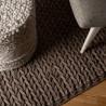 Tapis en laine feutré naturel intérieur Marina