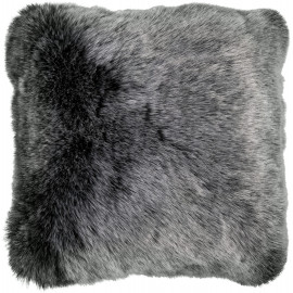 Coussin effet peau de mouton en acrylique shaggy Berenike
