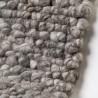 Tapis en laine naturel tissé main Wolly