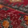 Tapis rayé intérieur et extérieur rouge Balve