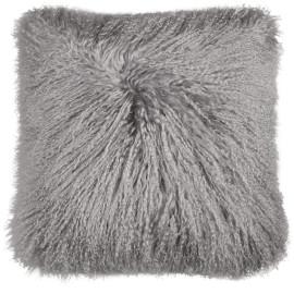 Coussin en laine à poils longs Bamberg