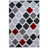 Tapis géométrique rectangle scandinave Juju