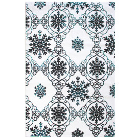 Tapis baroque pour salon rectangle Gleese