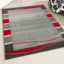 Tapis contemporain pour salon rectangle Luso
