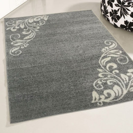Tapis floral intérieur rectangle Leider