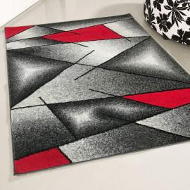 Tapis design en polypropylène géométrique Japariz