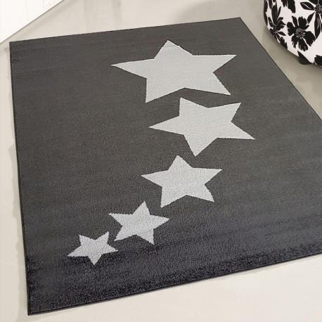 Tapis étoile pour enfant à courtes mèches Taza