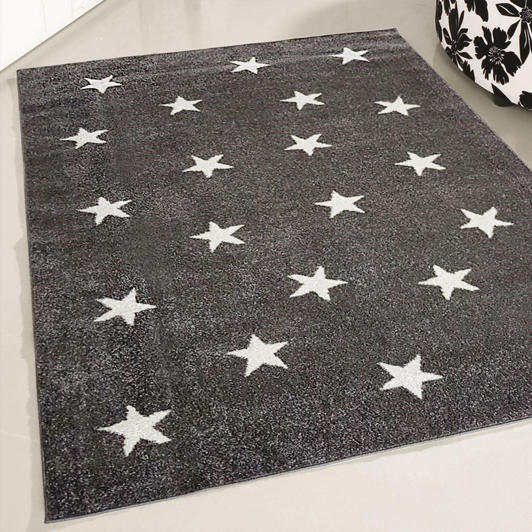 Tapis enfant dessin étoile rectangle Chenoa