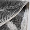 Tapis gris scandinave à courtes mèches Belem