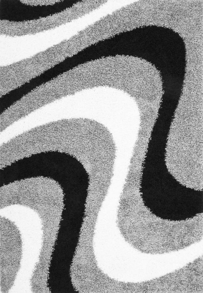 Tapis shaggy Joy III par Lalee