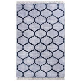 tapis scandinave à franges plat graphique Jahia
