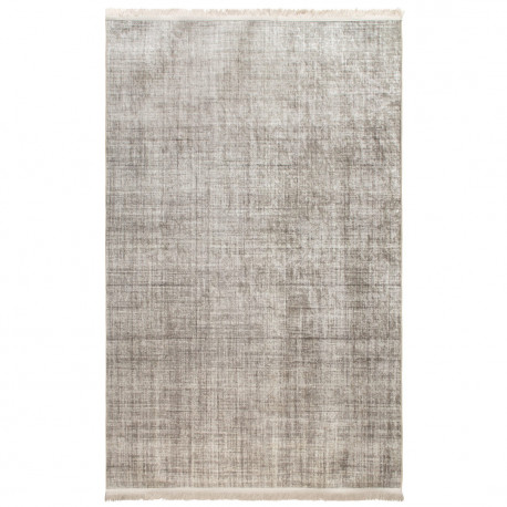 Tapis rayé design plat avec franges rectangle Maurice