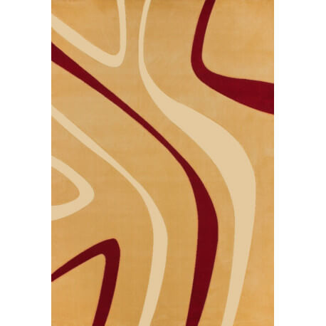 Tapis design Malta vague par Lalee