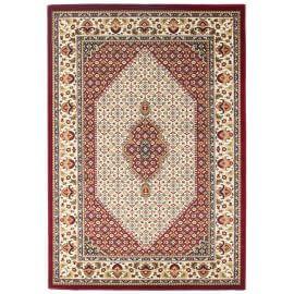 Tapis rouge style oriental intérieur Mounia