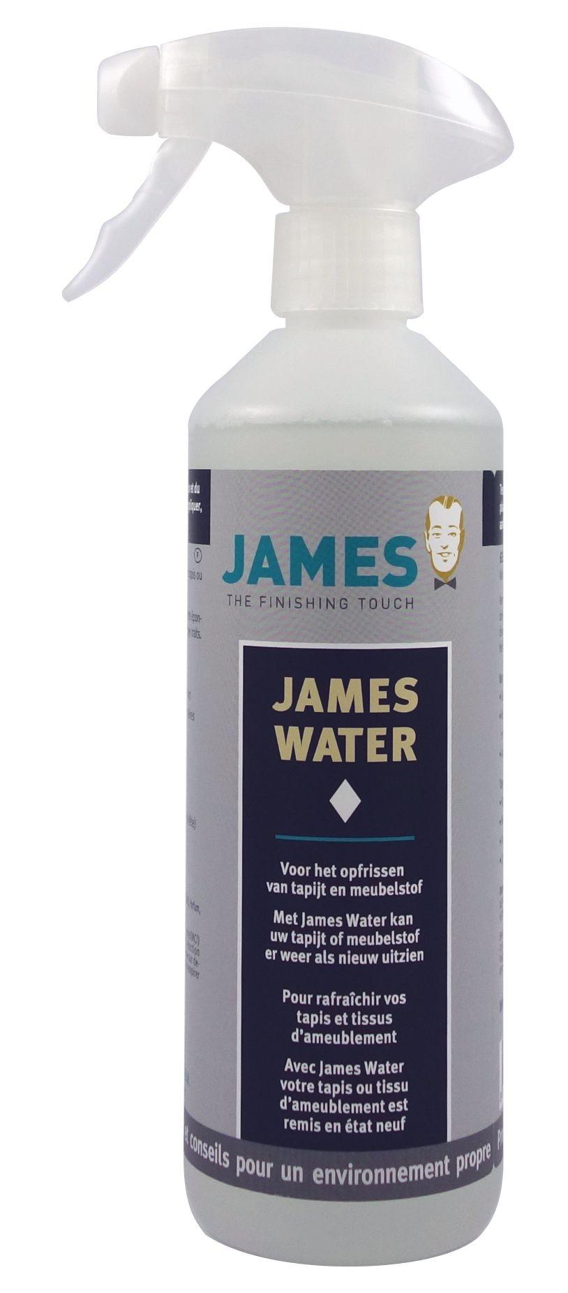 Produit de nettoyage pour tapis James Water