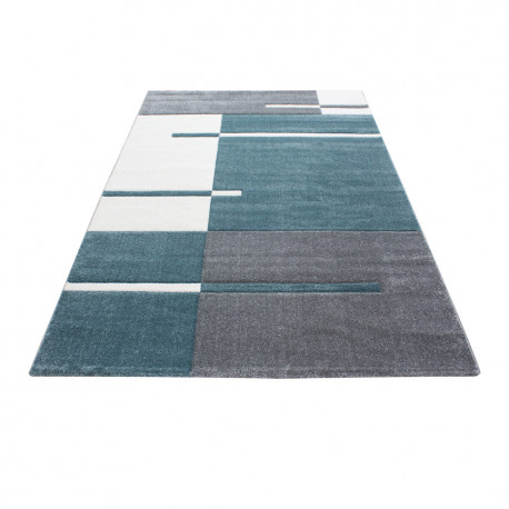 Tapis effet 3D design pour salon rectangle Nils