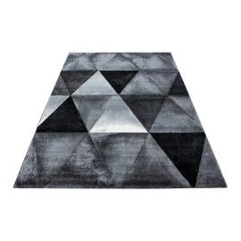 Tapis scandinave en polypropylène géométrique Sanjoli