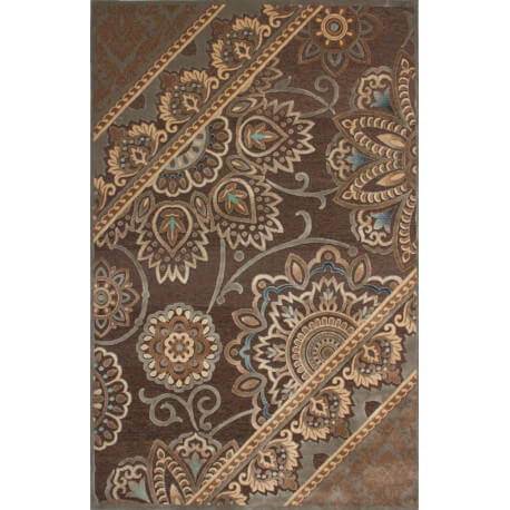 Tapis contemporain Vogue II par Lalee