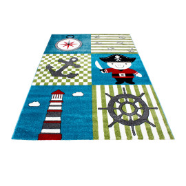 Tapis enfant pirate Mikala