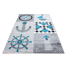 Tapis pour enfant rectangle Nathen