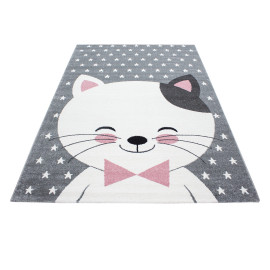 Tapis rectangle pour enfant en polypropylène Wiku