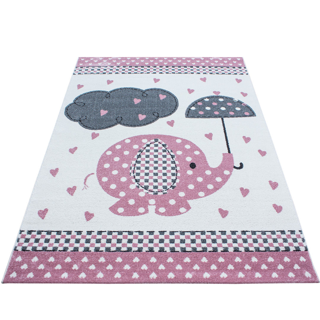 Tapis de chambre enfant rectangle Luna