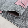 Tapis pour bébé rectangle à courtes mèches Comix