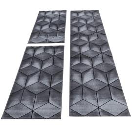 Tapis moderne cubique pour salon Gembira