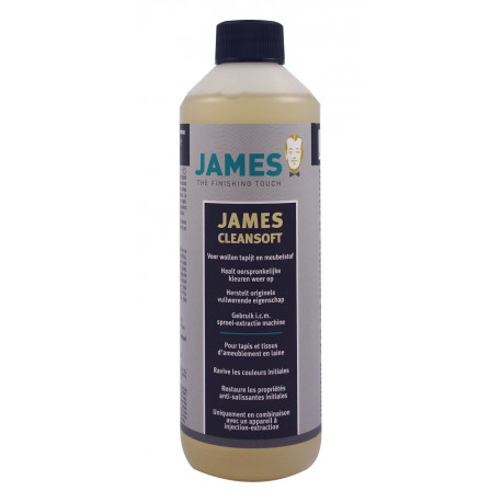 Produit de nettoyage pour tapis en laine Cleansoft James