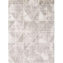 Tapis scandinave géométrique brillant pour salon Jonasse