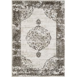 Tapis vintage intérieur ethnique rectangle Dark