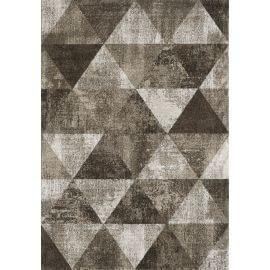 Tapis scandinave à courtes mèches géométrique Luxor