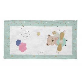 Tapis pour bébé multicolore rectangle Drive