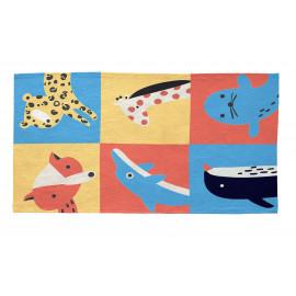 Tapis Vivabita multicolore pour enfant Travelling