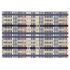 Tapis moderne multicolore plat pour salon Munich