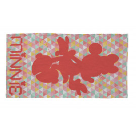 Tapis pour chambre de fille multicolore Disney Geo Minnie