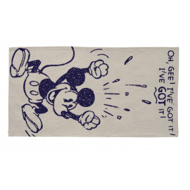 Tapis Disney gris pour chambre de garçon I've Got Mickey