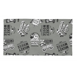 Tapis gris Disney lavable en machine rectangle Magicals Mickey