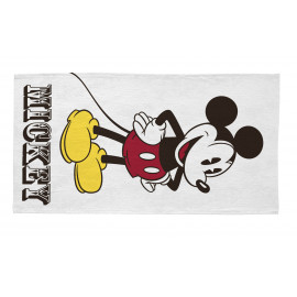 Tapis Disney lavable en machine blanc Mickey & Friends